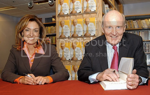 Jack Welch and Suzy Welch Photo